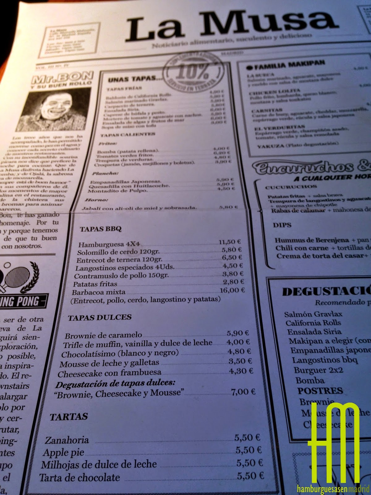 La musa latina de makipanes y mini hambuguesas - La musa latina ...
