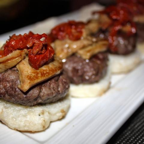 Mini Burgers Gobu
