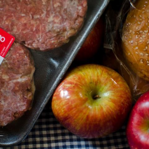 Carne e ingredientes