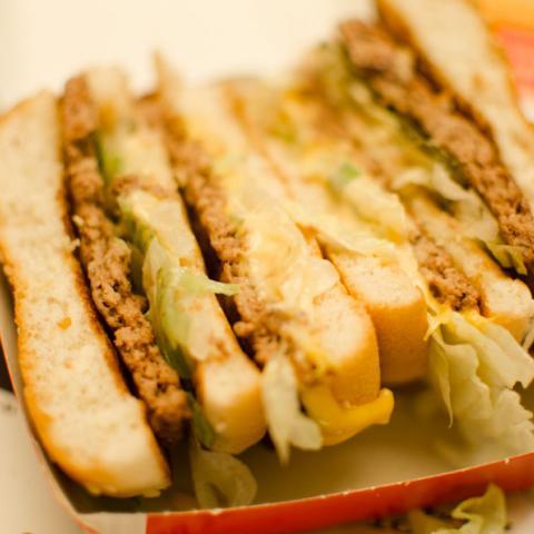 Detalle Corte Big Mac