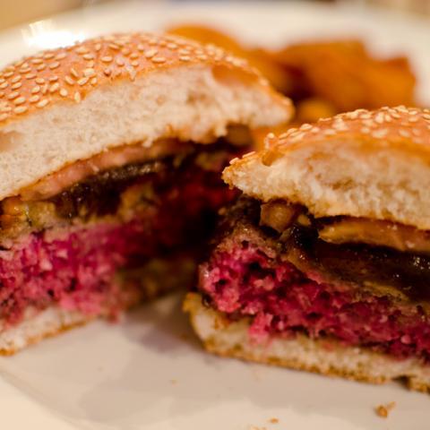 Detalle Corte Park Avenue NY Burger